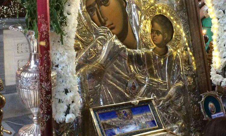 « ΚΥΡΙΕ και ΘΕΕ ΜΟΥ μην το κάνεις αυτό, σώσε τα μικρά παιδάκια»  και ξαφνικά σταμάτησε ο σεισμός και η επερχόμενη καταστροφή.