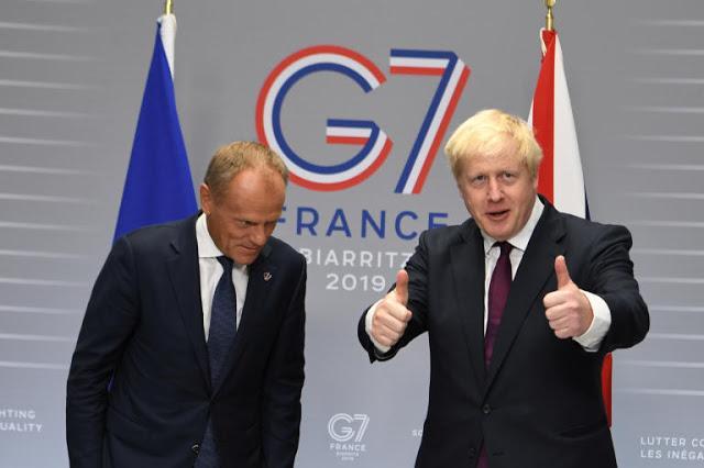 Μ.Τζόνσον: «Η Βρετανία Βγαίνει Από Την ΕΕ Στις 31 Οκτωβρίου Με Συμφωνία Ή Χωρίς»»