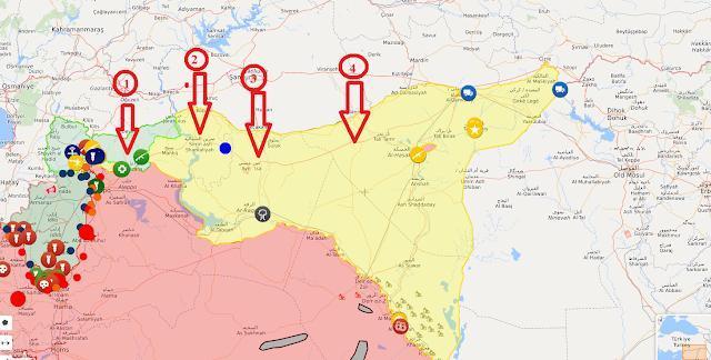 Πληροφορία Που Θα Αλλάξει Τις Ισορροπίες Στη Συρία: Ο Διεθνής Συνασπισμός Κλείνει Τον Εναέριο Χώρο Της Ροζάβα, Για Να Αποτρέψει Την Εισβολή Της Τουρκίας