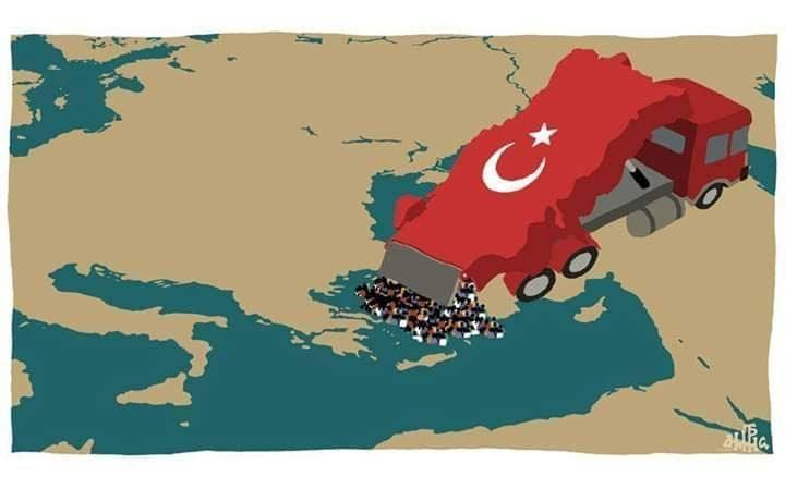 Το θέμα είναι : όχι αν θα μας κτυπήσουν οι τούρκοι ή πότε θα γίνει αυτό, αλλά σε τι κατάσταση θα βρισκόμαστε, όταν θα  μας κτυπήσουν.