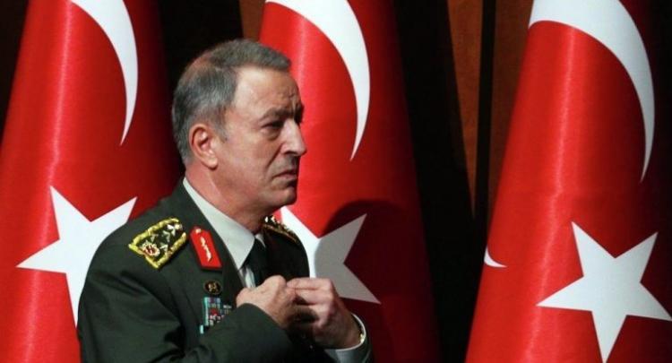 Εκτός ελέγχου ο Ακαρ: Βάζει Κύπρο, Αιγαίο και Θράκη στις «Τουρκικές Ηνωμένες Πολιτείες»