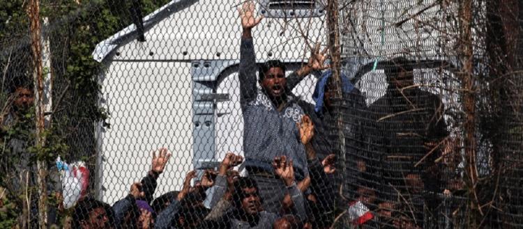 Πρόβα εξέγερσης στην Χίο: Αλλοδαποί «διαδηλώνουν» & απαιτούν τη μεταφορά τους στην ενδοχώρα (βίντεο)