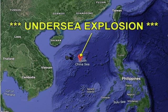 Κανένας δεν γνωρίζει τι συνέβη … Υποθαλάσσια πυρηνική έκρηξη από την Κίνα για να προκαλέσει σεισμό στις Δυτικές ακτές των ΗΠΑ ;