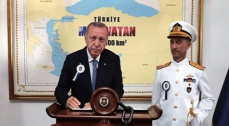 Η Τουρκία έδωσε συντεταγμένες για την «γαλάζια πατρίδα» και κλέβει ελληνική και κυπριακή υφαλοκρηπίδα