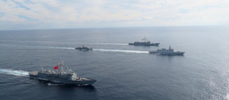 Η Άγκυρα επιβάλλει την κυριαρχία της -NAVTEX για άσκηση ανάμεσα σε Κρήτη και Ρόδο εντός της δυνητικής «ψευτο-ΑΟΖ»