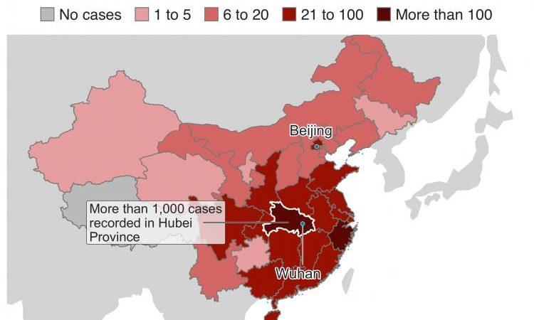 Ο ιός της Κίνας «εξαπλώνεται(μολύνει)  πριν εμφανιστούν τα συμπτώματα»  μεταδίδει το BBC – ΠΡΟΣΟΧΗ