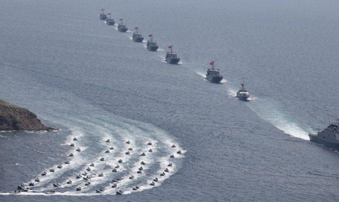 EKTAKTO: Σε ευθεία αναμέτρηση προκαλούν οι Τούρκοι – Αρμάδα πλοίων έβγαλε η Άγκυρα σε Αιγαίο, Α. Μεσόγειο & Μ. Θάλασσα