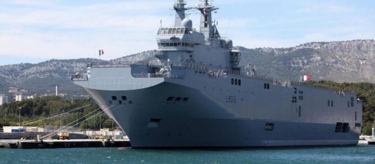 Ποια στήριξη από την Γαλλία; – Το ελικοπτεροφόρο «Dixmude» πραγματοποίησε ασκήσεις με το τουρκικό Ναυτικό (φωτό)