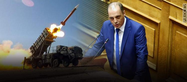 Βαριές καταγγελίες Κ.Βελόπουλου κατά κυβέρνησης για Patriot: «Ξηλώνεται την αεράμυνα της χώρας – Κάνετε έγκλημα»
