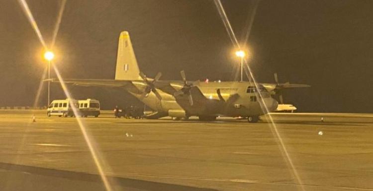 Προσγειώθηκε στην Αλεξανδρούπολη το C-130 της ΠΑ με του Κυπραίους της (ΜΜΑΔ) ( video).