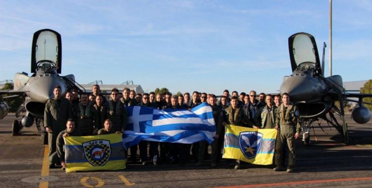 Ξανά η Πολεμική Αεροπορία έλαμψε στο ΝΑΤΟ… 340 & 343 Μοίρες της 115 ΠΜ! Ντρεπόμαστε; (ΦΩΤΟΓΡΑΦΙΕΣ)