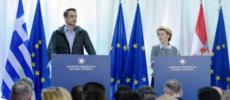 Σκληρός προς όλους ο Κ. Μητσοτάκης: «Η Ευρώπη δε μας βοήθησε – Κανείς παράνομος μετανάστης στην Ελλάδα»