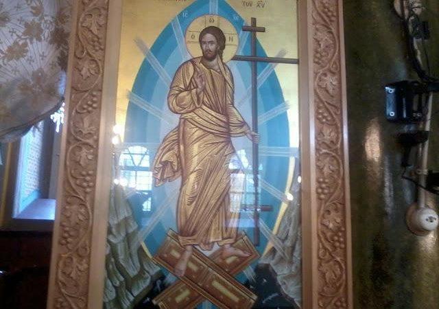 ΧΡΙΣΤΟΣ ΑΝΕΣΤΗ « Το 2006 ο ίδιος ο ΚΥΡΙΟΣ ζήτησε να αγιογραφηθεί η ΕΙΚΟΝΑ της ΑΝΑΣΤΑΣΕΩΣ ΤΟΥ και να μεταφερθεί απέναντι από τα Μικρασιατικά Παράλια στην Λέσβο για να προστατεύσει τα νησιά μας» .