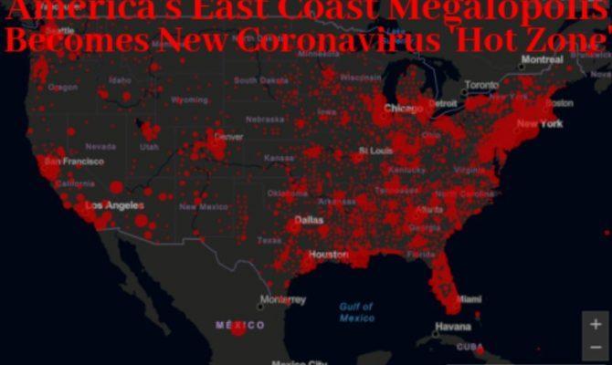 Το κυνήγι για τους «διαφυγόντες από τη Νέα Υόρκη» είναι απόλυτη απόδειξη ότι το Covid-19 δεν είναι «συνηθισμένη γρίπη» – η Αμερική μετασχηματίζεται σε μια ζώνη πολέμου