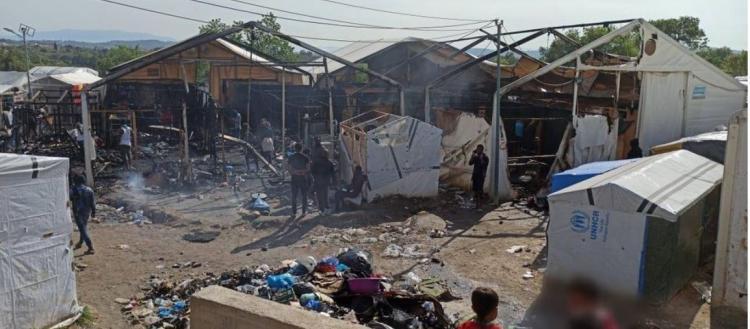 «Κρανίου τόπος»: Κατέστρεψαν τα πάντα στον καταυλισμό της ΒΙ.ΑΛ στη Χίο οι αλλοδαποί – Δεν άφησαν τίποτα όρθιο