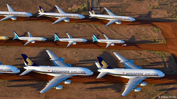 Πού πάνε τα αεροπλάνα που δεν πετάνε;