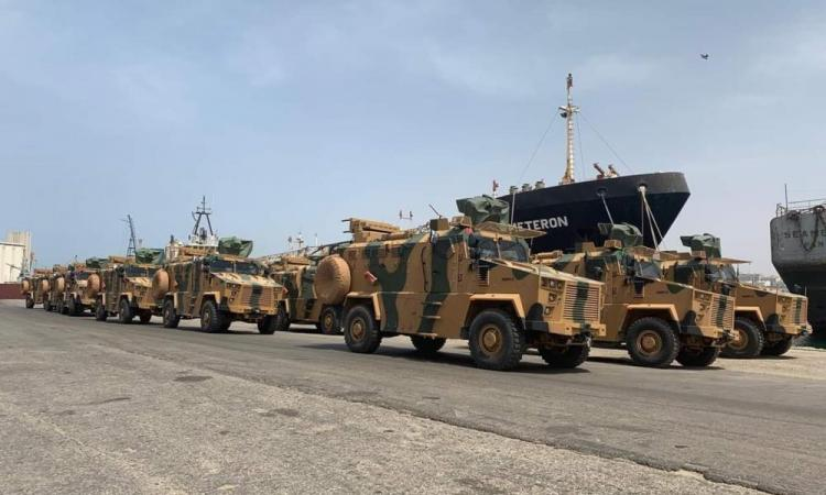 """Καταστροφή για την Τουρκία: Δεκάδες οχήματα Kirpi στα """"χέρια"""" του LNA."""