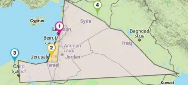 PA: Το Ισραήλ επεκτείνεται στα Βιβλικά Σύνορα «από το Νείλο στον Ευφράτη»