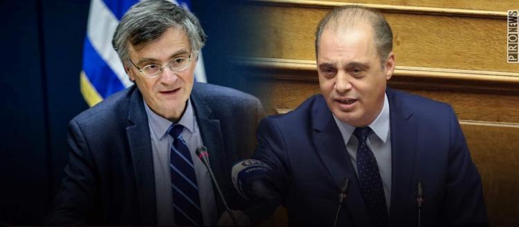 Σφοδρή επίθεση Κ.Βελόπουλου κατά Σ.Τσιόδρα και της πολιτικής της κυβέρνησης για την πανδημία