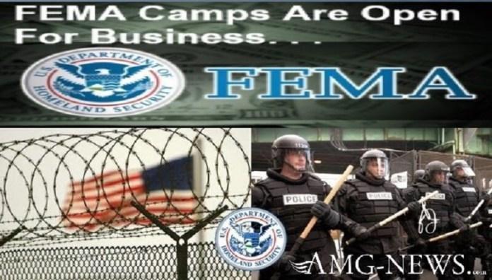 Μαζική κατασκήνωση θανάτου FEMA με τάφους που ανακαλύφθηκαν στο Χιούστον | Τα στρατόπεδα FEMA είναι ανοιχτά για επιχειρήσεις-VIDEO.