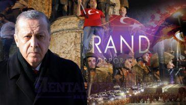 """Έκθεση-""""βόμβα"""" από το ινστιτούτο RAND: """"Πρέπει να αλλάξει η κυβέρνηση στην Τουρκία""""."""