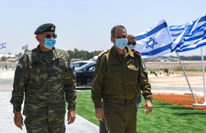Επίσκεψη αστραπή του Α/ΓΕΕΘΑ στο Ισραήλ.
