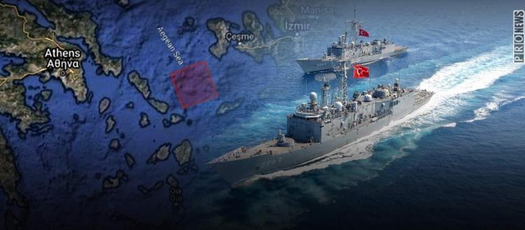 Τουρκική άσκηση με πραγματικά πυρά έξω από τη… Μύκονο!