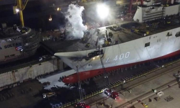 Επείγον. Αποτράπηκε την τελευταία στιγμή σαμποτάζ που θα βύθιζε το Τουρκικό αεροπλανοφόρο «Ανατολού»