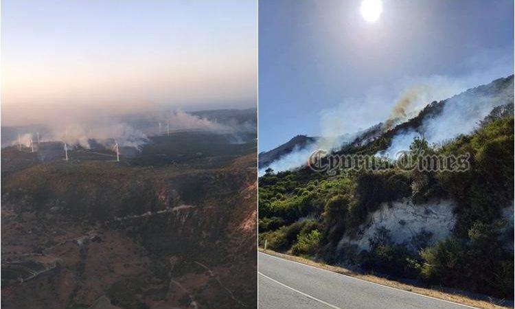 Έργο εμπρηστών η τεράστια πυρκαγιά που κατακαίει σε Πάφο και Λεμεσό. Καταγράφηκαν τουλάχιστον 6 εστίες.