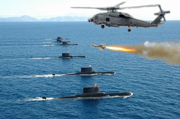 """Αποκάλυψη: Τούρκος κυβερνήτης υποβρυχίου είπε """"παραδίνομαι"""" στους Έλληνες διώκτες του"""