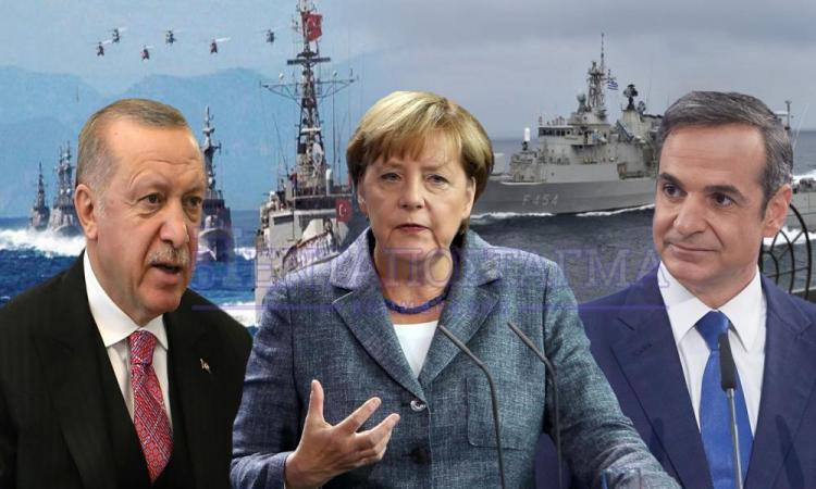 """Oι Γερμανοί πιέζουν για διαπραγματεύσεις: """"Αθήνα & Άγκυρα να ξεκινήσουν τον διάλογο""""."""