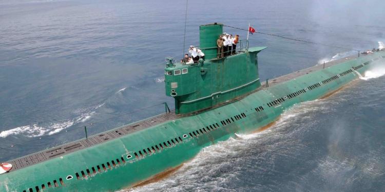 Εντοπίστηκε μυστηριώδης τύπος υποβρυχίου που ίσως ανήκει στη Βόρεια Κορέα.