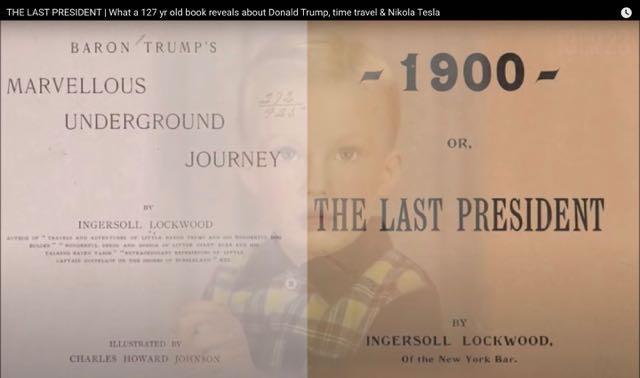 Ο ΤΕΛΕΥΤΑΙΟΣ ΠΡΟΕΔΡΟΣ | Τι αποκαλύπτει ένα παλιό βιβλίο 127 ετών για τον Ντόναλντ και τον Bαρόνο Tραμπ και την πτώση της Αμερικής. Τέλειο βίντεο.