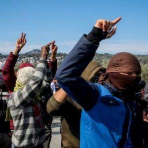 ΕΚΤΑΚΤΟ: Νέα εξέγερση παράνομων μεταναστών στην Λέσβο: Εκκενώθηκε η εθνική οδός Μυτιλήνης-Θέρμης