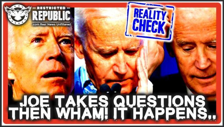 Ο Τζο Μπάιντεν απαντά σε ερωτήσεις και μετά Wham! … Κάτι συμβαίνει, το πιάσατε; Ώρα ελέγχου πραγματικότητας!
