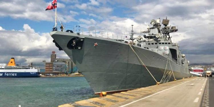 ΑΛΛΑΓΗ ΣΤΑΣΗΣ ΠΟΥΤΙΝ; Πόσο τυχαία είναι η άφιξη στον Πειραιά του επιβλητικού Ρωσικού Vice Admiral Kulakov;