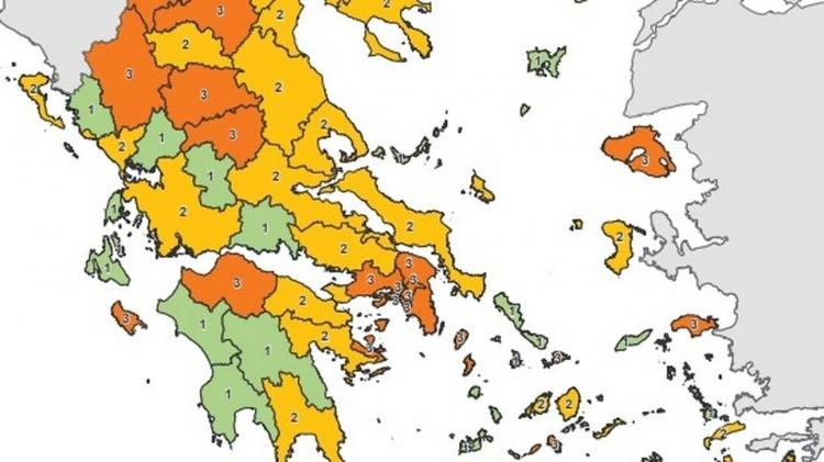 Κορωνοϊός: Τι είναι ο χάρτης υγειονομικής ασφάλειας της χώρας