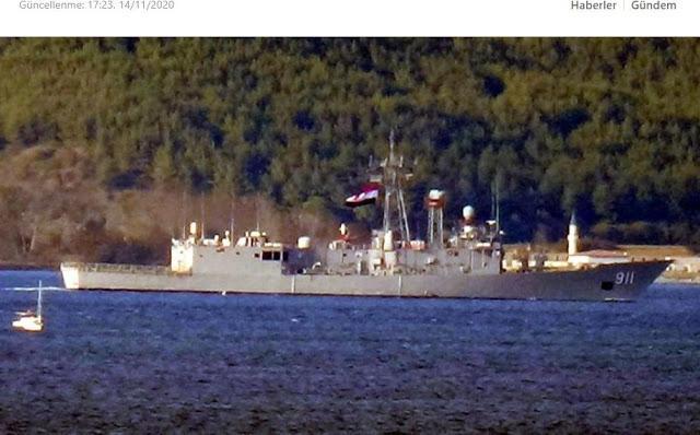 Για πρώτη φορά: Αιγυπτιακά πολεμικά πλοία πέρασαν από τα Δαρδανέλια.