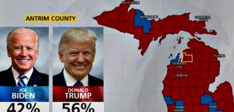 Απίστευτο – Επαρχία στην πολιτεία του Μίσιγκαν πέρασε ξανά στον Ν.Τραμπ όταν διορθώθηκε το λογισμικό καταχώρησης!