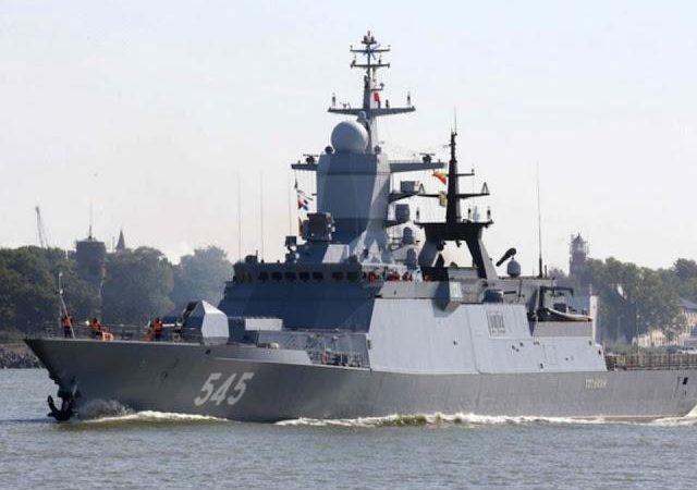 Ρωσικά πλοία από το Στόλο της Βαλτικής εισήλθαν στη Μεσόγειο Θάλασσα.
