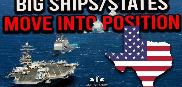 Προειδοποίηση καταιγίδας.Στρατιωτικές δυνάμεις,αεροπλανοφόρα και καράβια συνοδείας,Πολιτείες σε κοινητοποίηση.Κάτι περίεργο συμβαίνει.