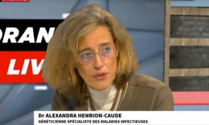 Γενετίστρια Alexandra Henrion-Caude: δεν εμπιστευόμαστε αυτό το εμβόλιο. Δεν είναι εμβόλιο. Είναι γενετική μηχανική, προφυλακτική γονιδιακή θεραπεία…