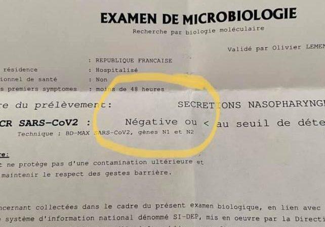 Του είπαν ότι ο πατέρας του πέθανε από covid19, αρνήθηκαν να του δώσουν το τεστ αλλά τυχαία το ανακάλυψε κι είναι αρνητικό!!!