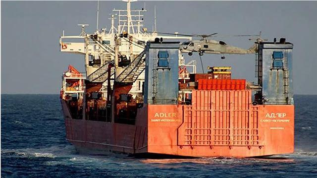 Το ρωσικό ΥΠΕΞ διερευνά το συμβάν της προσγείωσης των ελληνικών ειδικών δυνάμεων στο ρωσικό πλοίο.