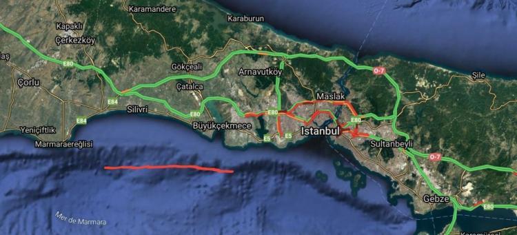Η ΩΡΑ ΤΩΝ ΜΕΓΑΛΩΝ ΣΗΜΕΙΩΝ ΦΘΑΝΕΙ : παρατηρήθηκε ανωμαλία στο υποθαλάσσιο ανάγλυφο της Θάλασσας του Μαρμαρά. Γίνεται λόγος για ρήγμα και επικείμενο καταστροφικό σεισμό μαμούθ στην Κων/πολη με ως και 500.000 νεκρούς!!ΘΑ ΕΠΑΛΗΘΕΥΘΟΥΝ ΟΙ ΠΡΟΦΗΤΕΙΕΣ ΓΙΑ ΤΟ ΣΕΙΣΜΟ;;;