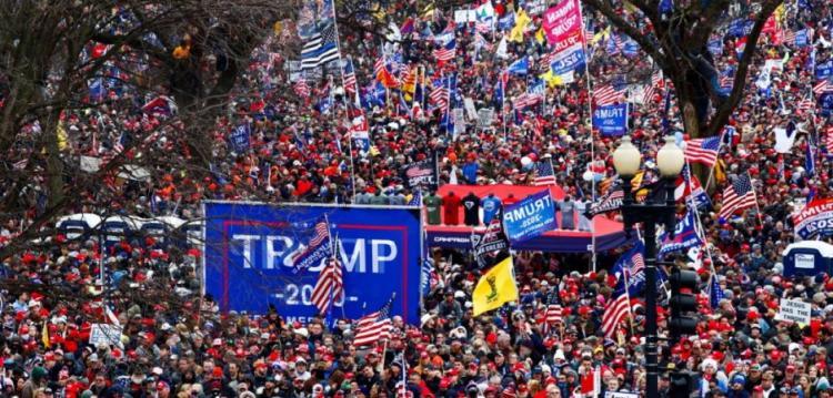 «Σεισμός» υπέρ Ν.Τραμπ και νομιμότητας στις ΗΠΑ: Λαϊκή «έκρηξη» εκατομμυρίων Αμερικανών σε διαδήλωση κατά της νοθείας