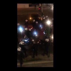 Βίντεο ντροπής: Αστυνομικός καλεί τους συναδέλφους του να «σκοτώσουν και να γαμ…» τους διαδηλωτές!