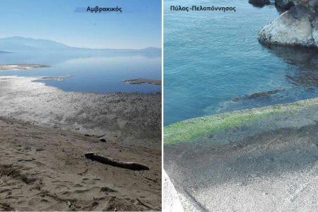 Υποχώρηση της θάλασσας ..Βοά το ρήγμα του Κορινθιακού..Ανέβηκε το ραδόνιο…