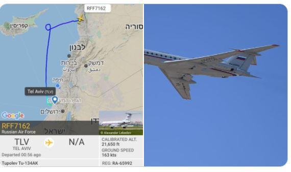 ΔΙΠΛΩΜΑΤΙΚΟ ΘΡΙΛΕΡ: ρώσικες πτήσεις VIP από Ισραήλ προς Συρία!!!Συναντήσεις Ρώσων Ισραηλινών αξιωματούχων για το συριακό πύραυλο που έφτασε στην Dimona!!