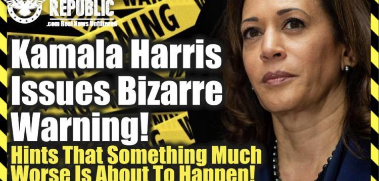 Λίζα Χέιβεν : Η Kamala Harris εκδίδει παράξενη προειδοποίηση! Υπονοώντας ότι τα πράγματα πρόκειται να γίνουν πολύ χειρότερα από ό,τι αναφέρθηκε!